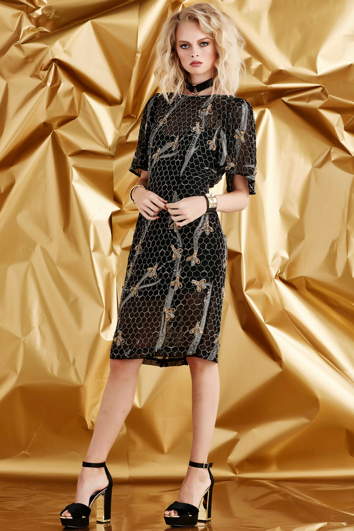 QUEEN B DRESS - Shop by Style-Dresses : Home - TRELISE COOPER SPRING 18
