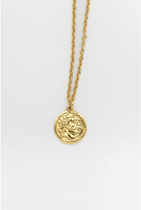ROMAN EMPEROR COIN NECKLACE