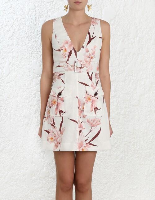 313d36072ea0e CORSAGE SAFARI DRESS - Shop by Style-Dresses   Home - ZIMMERMANN SUMMER 19