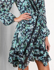 MONCUR WRAP DRESS