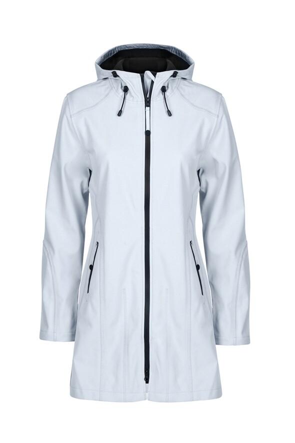2e3648ac0 RAIN 07 RAINCOAT (WHITE BLUE) - Shop by Style-Jackets : Home - ILSE JACOBSEN  W19