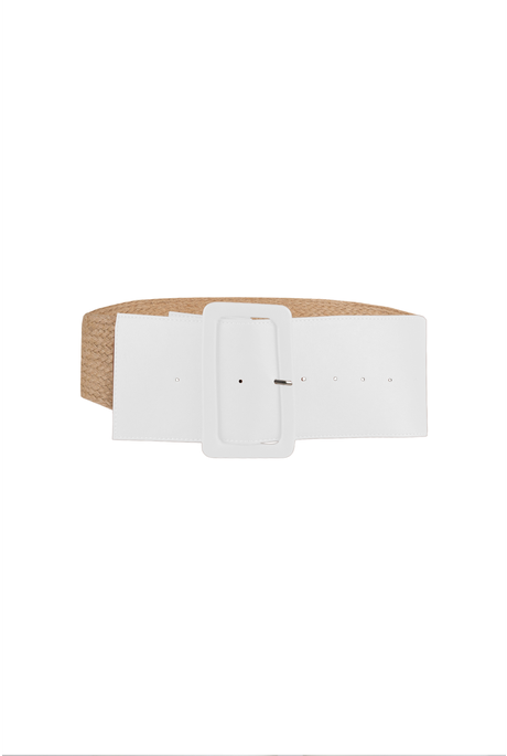 WAIST THE DAY BELT (WHITE)