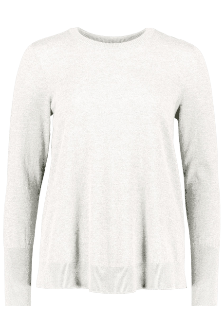 CASHMERE SWING SWEATER (STUCCO)