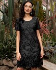 A LITTLE BIT OF ROMANCE DRESS (BLACK)