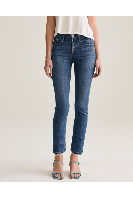 TONI MID RISE STRAIGHT FIT JEANS (OBSCURE)