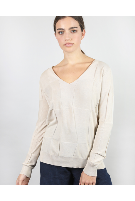 ORIGAMI V SLOUCHY (NATURAL)