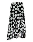 DISH THE SKIRT SKIRT (BLACK WITH WHITE SPOT)