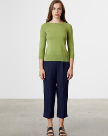 LINEN RELAXED PANT (NAVY)-shop-by-category-Lynn Woods