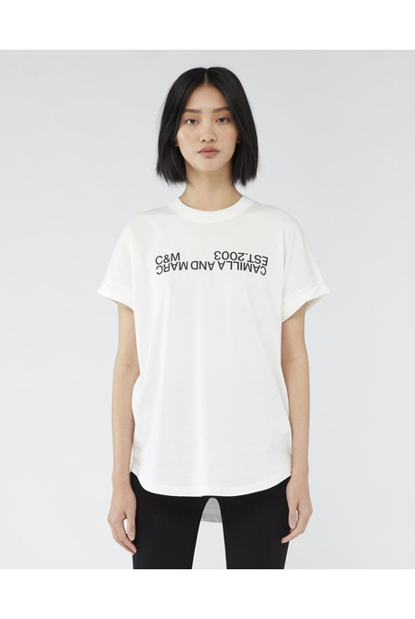 HUNTINGTON 2.O TEE (WHITE)