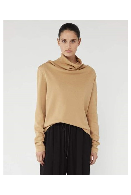 TOLEDO HIGH NECK KNIT (CAMEL)