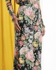 LADYBEETLE SILK WIDE LEG PANTS (MIDNIGHT FLORAL)