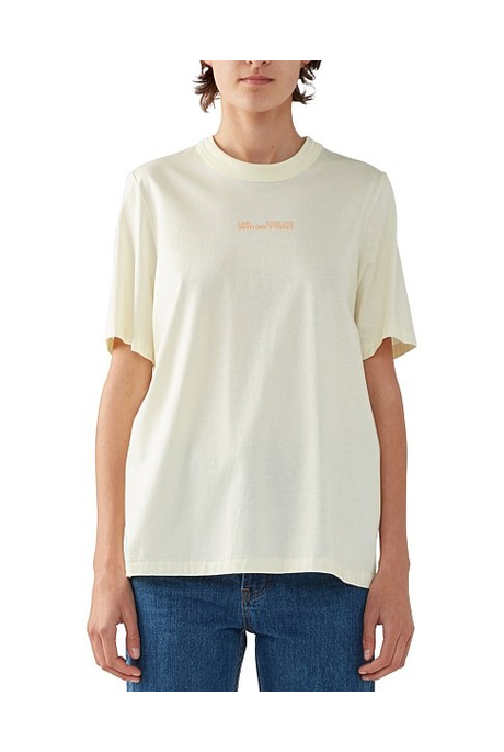 GEORGE 2.0 TEE (LEMON BUTTER)