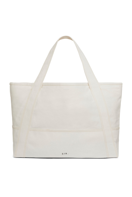 MAURICE TOTE BAG (IVORY)
