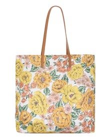 PRINTED TOTE BAG (SUNSHINE FLORAL)-shop-by-category-Lynn Woods