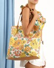 PRINTED TOTE BAG (SUNSHINE FLORAL)