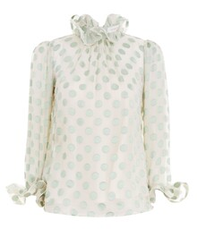 THE LOVESTRUCK FLUTED BLOUSE (MINT)-shop-by-category-Lynn Woods