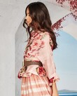 OVER THE FRILLS AND FAR AWAY JACKET(BLUSH FLORAL)