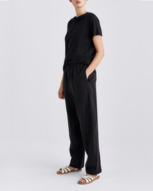 ORSON LINEN PANT (DARKEST NAVY)-shop-by-category-Lynn Woods