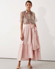 PARKER WRAP SKIRT (PINK)-shop-by-category-Lynn Woods