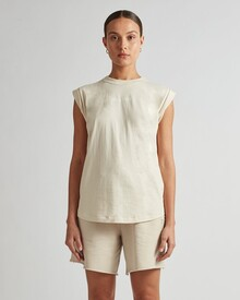 CADIZ LOGO TANK (IVORY)-shop-by-category-Lynn Woods
