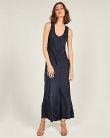 OBSESSION DRESS (DARK NAVY)-shop-by-category-Lynn Woods