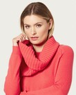 PURE CASHMERRE SNOOD (TANGELO)