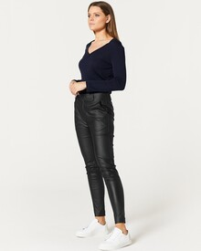 NADIA WAX PANT (BLACK)-shop-by-category-Lynn Woods
