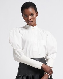 CHAISE SHIRT (WHITE)-shop-by-category-Lynn Woods