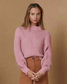 ELSA KNIT JUMPER (BLUSH)-shop-by-category-Lynn Woods