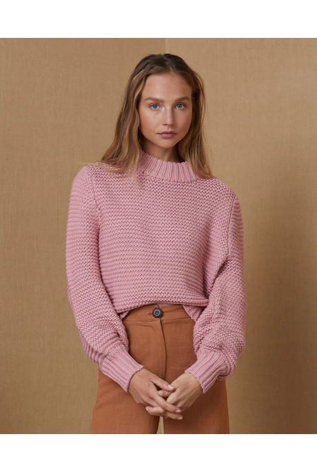 ELSA KNIT JUMPER (BLUSH)