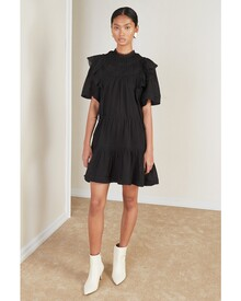 GISELLE DRESS (OFF BLACK)-shop-by-category-Lynn Woods