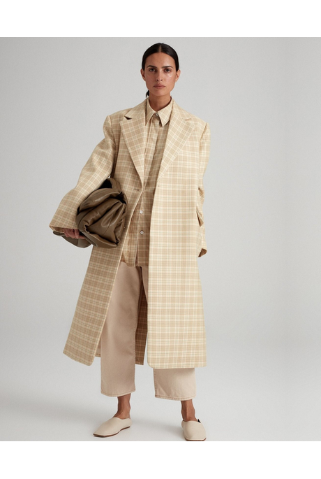 SOMERS COAT (CITRUS CHECK)