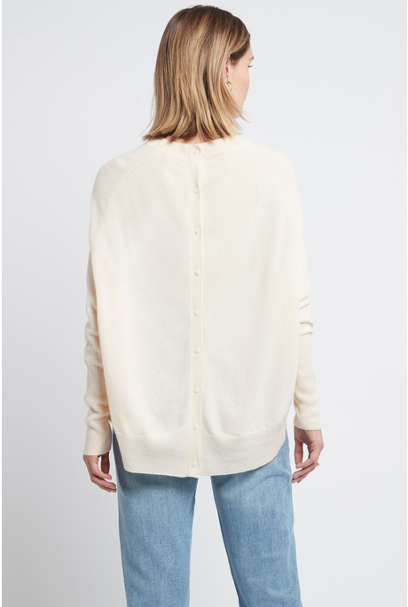 PALOMA CASHMERE SWEATER (CREAM)